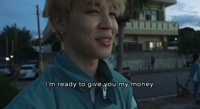 Jimin is ready to give his money, and so should you!